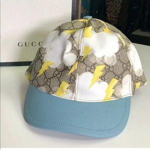 Gucci Authentic Kids GG Supreme ⛈ Hat W/ Box